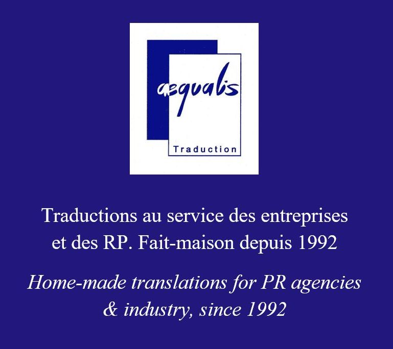Traductions au service des entreprises et des RP depuis 1992 / Translations for PR agencies & industry since 1992